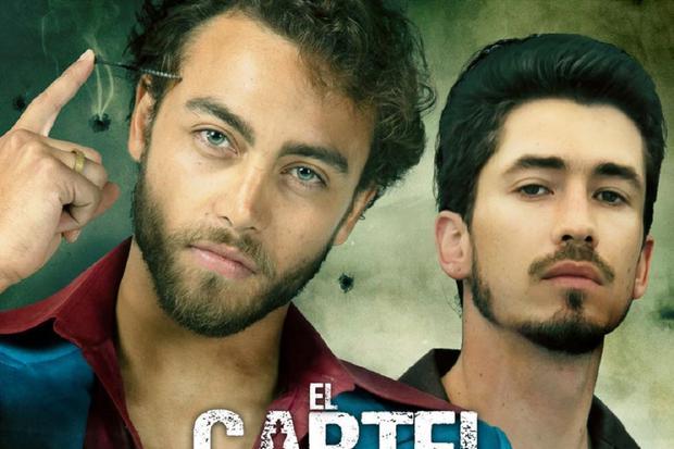 """Sebastián Osorio y Juan Pablo Urrego interpretan a los hermanos Villegas en """"El Cartel de los Sapos: El origen"""" (Foto: Caracol TV / Netflix)"""