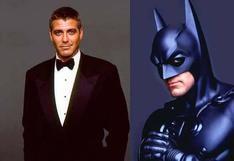 """George Clooney reconoce que estuvo terrible en """"Batman y Robin"""""""