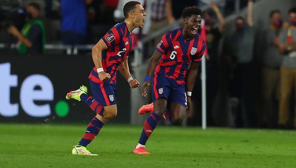 Estados Unidos vs. Costa Rica se vieron las caras este miércoles por la jornada 6 de las Eliminatorias a Qatar 2022 (Foto: Getty Images).