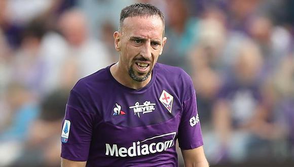 Ribery dejará la Serie A, según medios italianos. (Foto: Agencias)