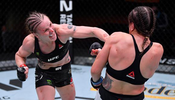 Valentina Shevchenko defenderá su título ante Jessica Andrade en el UFC 261. (Zuffa LLC)