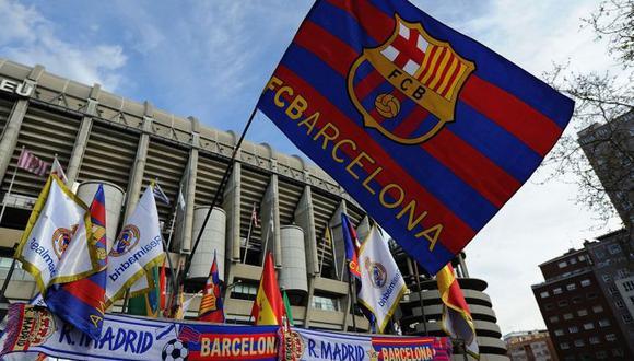 Real Madrid terminó a 19 puntos del Barcelona en la última temporada de Liga Santander. (AFP)
