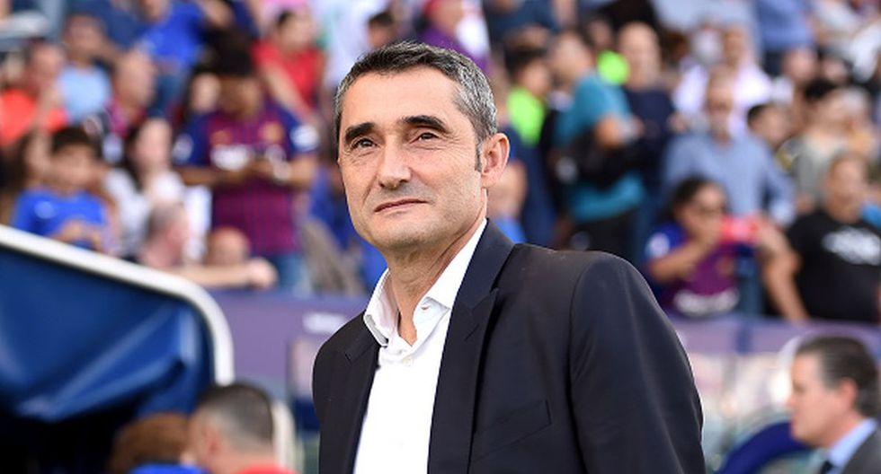 Ernesto Valverde tenía contrato en Barcelona hasta mediados de 2021. (Foto: Getty Images)