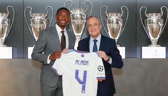 David Alaba llegó al Real Madrid en calidad de jugador libre desde el Bayern Munich. (Foto: Real Madrid)