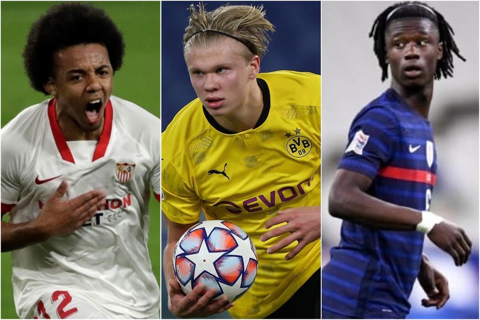 El XI ideal de los jugadores que dominarán el futuro del fútbol. (Getty)