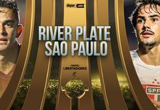 Horarios y canales de River vs. Sao Paulo EN VIVO por Copa Libertadores 2020