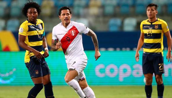 Gianluca Lapadula se ha convertido en el '9' titular de la Selección Peruana. (Foto: Agencias)