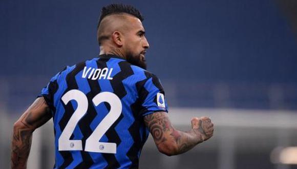 Arturo Vidal confirmó que no seguirá en Inter de Milán de la Serie A. (Foto: Imago 7)