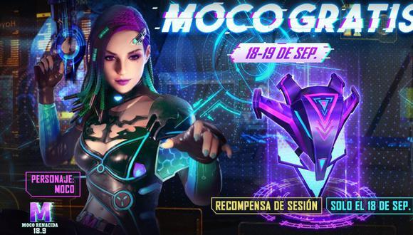 Free Fire: cómo obtener a Moco gratis y sin hacks en el Battle Royale de Garena