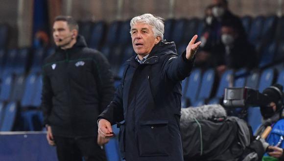 Gasperini es entrenador del Atalanta desde la temporada 2016. (Fuente: AFP)