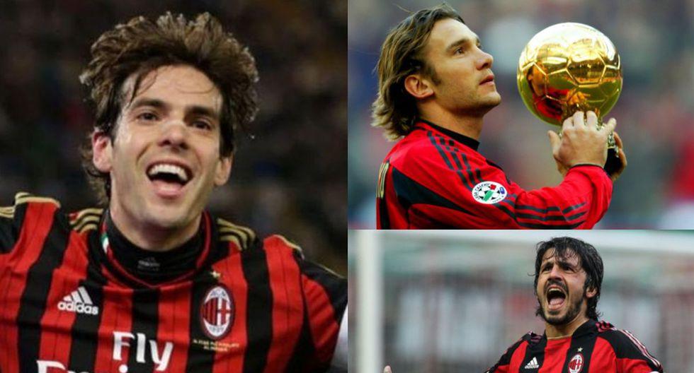 El mejor 11 que tuvo el AC Milan en toda su historia profesional.