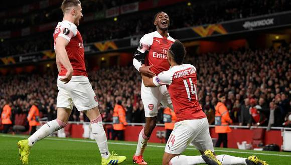 Con el 2-0, Arsenal se mete a cuartos de final de la Europa League. (Foto: Reuters)