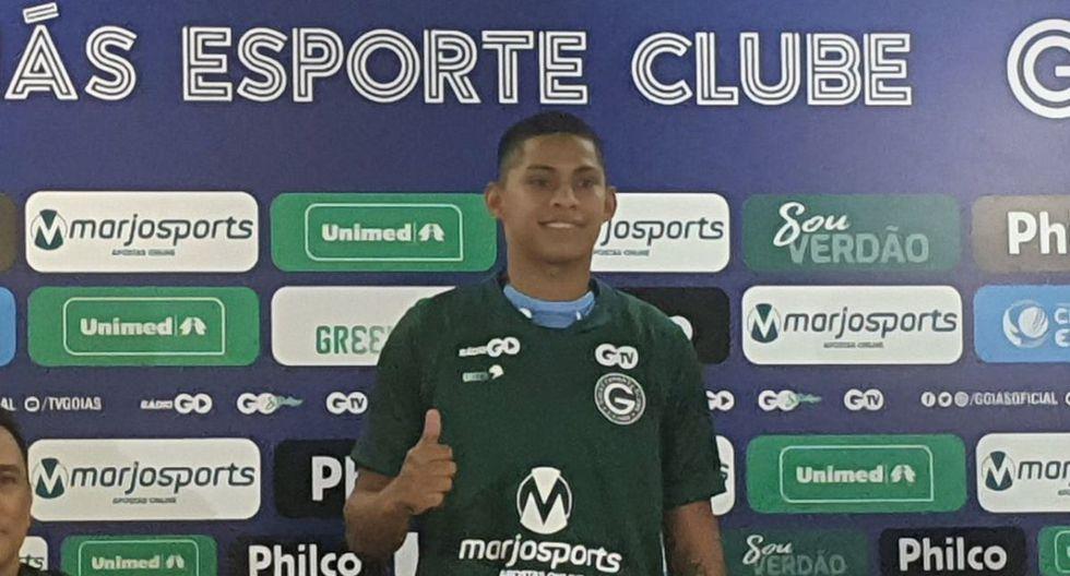 Kevin Quevedo llega a Goiás con un año de contrato.