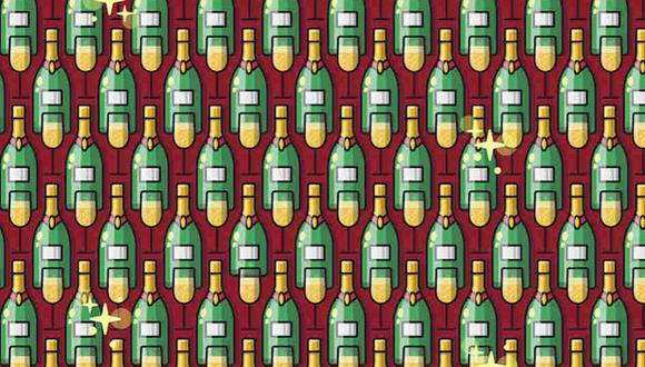 ¿Eres capaz de hallar las botellas pequeñas en la imagen? (Foto: Noticieros Televisa)