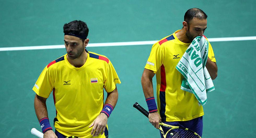 Robert Farah y Juan Sebastián Cabal solo ganaron un partido de los dos jugados. (Foto: Getty Images)