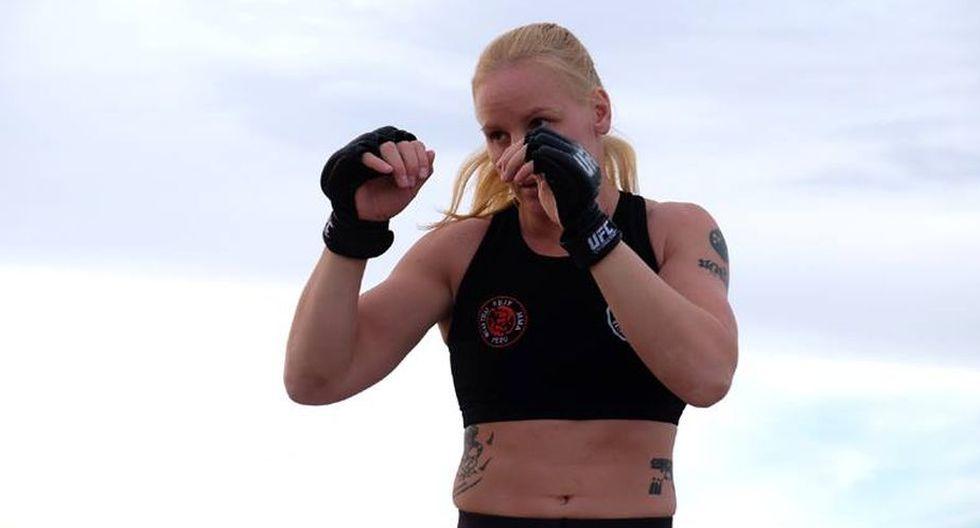 Valentina Shevchenko ya se encuentra en Las Vegas, Estados Unidos. (UFC)