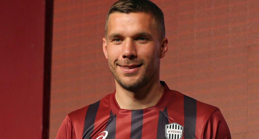 Lukas Podolski. (Getty Images)