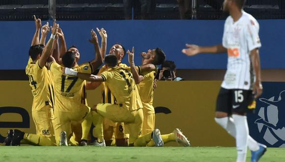 Guaraní venció 1-0 a Corinthians en La Nueva Olla por la Copa Libertadores 2020.