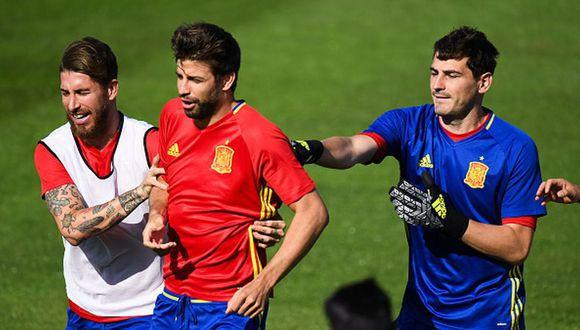 Iker Casillas y Gerard Piqué ganaron juntos el Mundial Sudáfrica 2010. (Foto: Getty Images)
