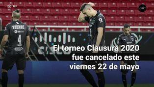 Se cancela el Clausura 2020 de la Liga MX por coronavirus