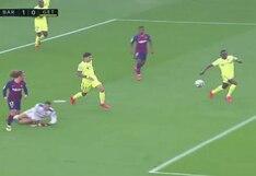 Clases de pase con Messi y de definición con Griezmann: el golazo del francés para el 1-0 del Barcelona ante Getafe en el Camp Nou