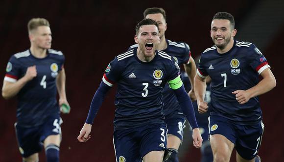 Andy Robertson será el capitán de Escocia en la Eurocopa 2021. (Foto: Agencias)