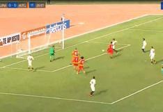 Apareció el goleador: Dos Santos anotó el 1-0 en el duelo ante Atlético Grau [VIDEO]
