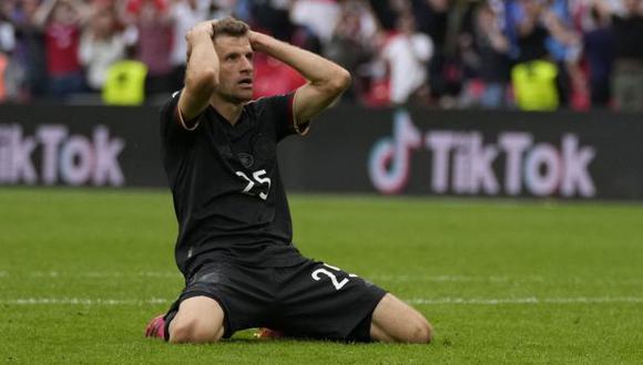 Thomas Müller es el noveno goleador histórico de la selección de Alemania, con 39 anotaciones. (Foto: AFP)