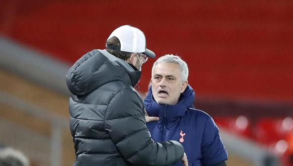 Liverpool derrotó 2-1 al Tottenham y tomó la punta de la Premier League. (Foto: Getty)