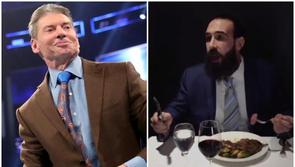 Luke Harper, exluchador de WWE, se habría burlado de Vince McMahon en su última promo en AEW. (Foto: WWE/AEW)
