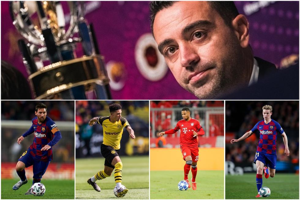 Gnabry, Messi, Neymar y más: así forma el XI que Xavi Hernández sueña con dirigir en el Barça [FOTOS]