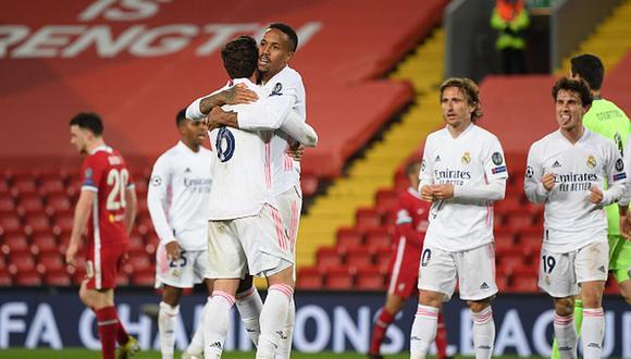Real Madrid clasificó a semifinales de Champions League tras eliminar a Liverpool. (Getty)