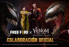 """Free Fire: conoce las recompensas del evento """"Venom: Carnage liberado"""""""