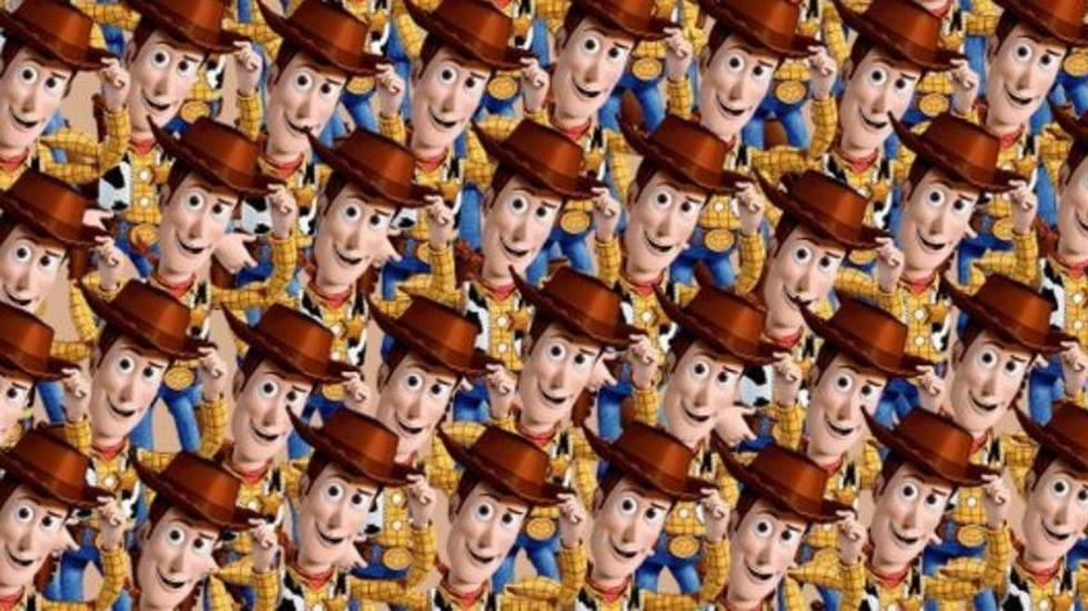Halla a Slinky entre los Woody de este reto viral de Toy Story. (Mdzol)