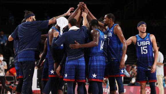 Estados Unidos vs. Australia: fecha, horarios y canales de TV para ver las semifinales del básquet en Tokio 2020. (NBA)