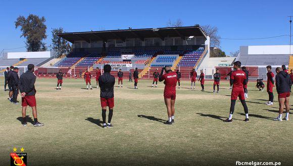Melgar ingresó a la fase 3 de los entrenamientos, que comprende los trabajos con todo el plantel. (Foto: Melgar)