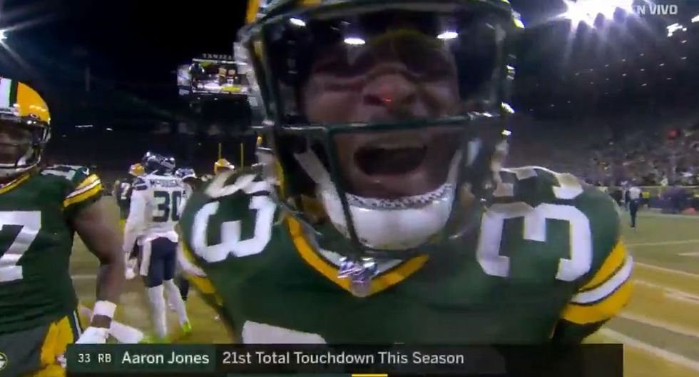 Aaron Jones juega con los Packers desde el 2017. (Foto: FOX Sports)