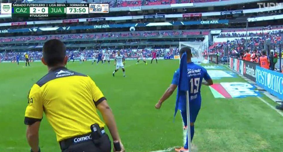 La gran asistencia de Yotun que significó el 2-0 del Cruz Azul-Juárez