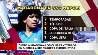 Diego Maradona: ¿cuántos Mundiales y títulos ganó la leyenda del fútbol argentino?