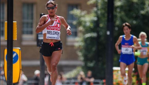 Inés Melchor posee el récord sudamericano en maratón desde 2014, con 2 horas, 26 minutos y 48 segundos. (Facebook)