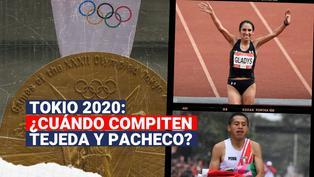 Tokio 2020: ¿Cuándo compiten  Gladys Tejeda y Cristhian Pacheco?