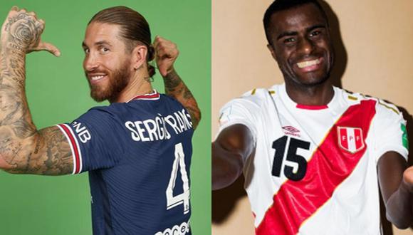 Sergio y Christian Ramos, y la filtración en las búsquedas de fotos.