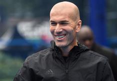 Con COVID-19 y desde casa: así fue la charla de Zinedine Zidane antes del partido frente a Alavés