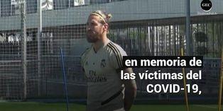 El gesto del Real Madrid en memoria de las víctimas por el COVID-19