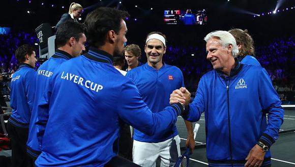 El Equipo Europa celebrando su victoria en la Laver Cup. (Foto: Getty Images)