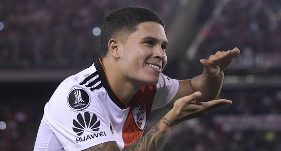 7. Juanfer Quintero de River Plate - de 9 a 15 millones de euros. (Foto: Getty)