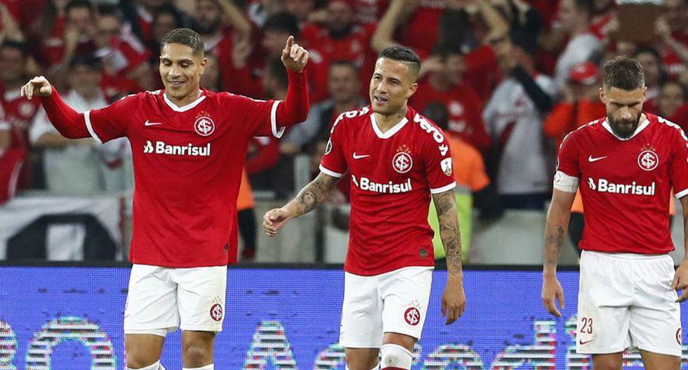 Internacional avanzó a los cuartos de final de la Copa Libertadores 2019 al imponerse 2-0 al Nacional en Porto Alegre, en la revancha de la fase de octavos. (Foto: AFP)