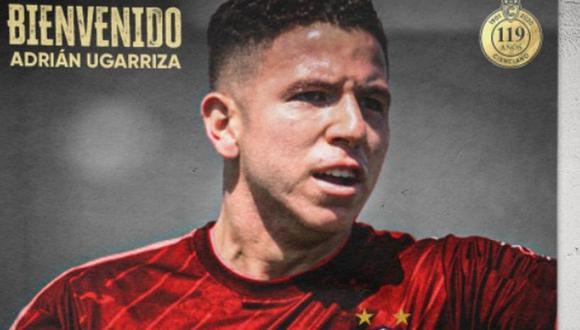 Ugarriza firmó por Cienciano. (Foto: Prensa CC)