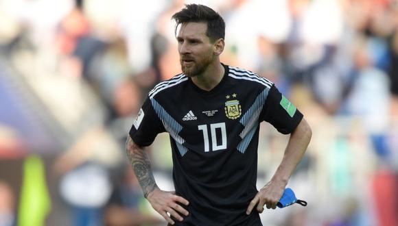 Argentina y Croacia chocan por el Mundial Rusia 2018 en Nizhni Nóvgorod.