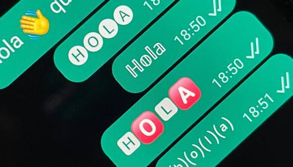 Conoce el método para cambiar de letra con el convertidor de texto Unicode de WhatsApp. (Foto: Depor)